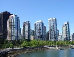 Ванкувер стал лучшим городом Канады для пеших прогулок