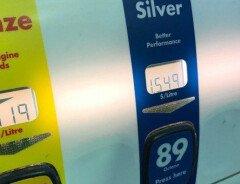 В Ванкувере самый дорогой бензин в Северной Америке на данный момент