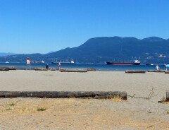 Пляжи Ванкувера: Пляж Локарно (Locarno Beach)