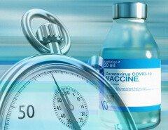 В канадском городе перенесли день вакцинации из-за того, что люди не записываются на прием