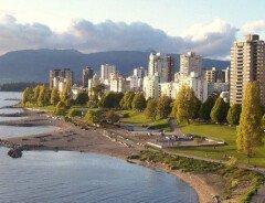 Ванкувер - один из самых популярных городов для посещения этим летом