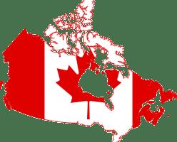 Средняя стоимость аренды в канадских городах за февраль