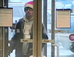Мужчина в шапке Санта Клауса ограбил банк Британской Колумбии