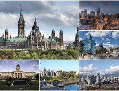 Города Канады: основные мегаполисы + сравнительная таблица