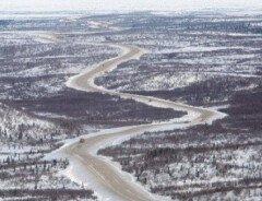 В Канаде открыли первую дорогу к Северному Ледовитому океану