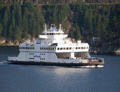 Первые гибридно-электрические паромы BC Ferries — на пути в Британскую Колумбию