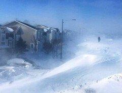 В канадской провинции за день выпало рекордное количество снега