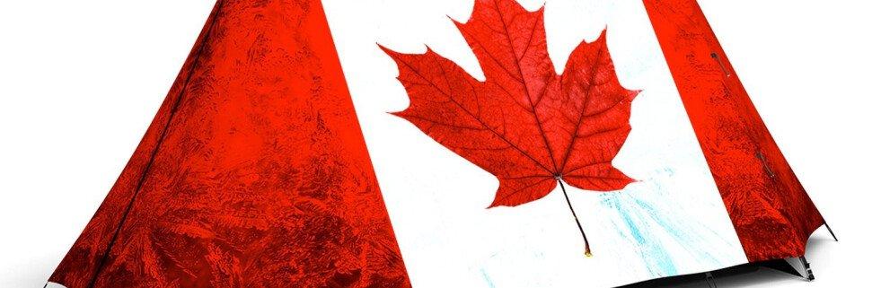 кемпинг в канаде