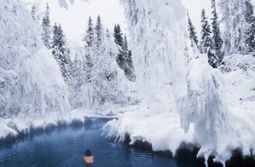 Горячие источники Лиард Ривер (Liard River Hot Springs)