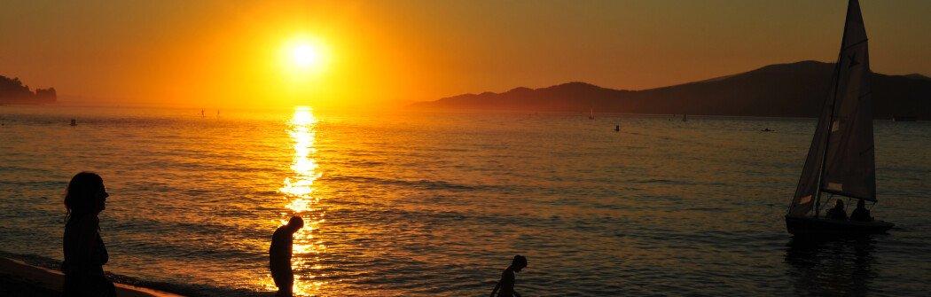 Пляжи Ванкувера: Пляж Сансет (Sunset Beach)