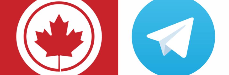 Телеграм каналы о Канаде