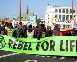 В Ванкувере активисты из Extinction Rebellion планируют еще акции протеста