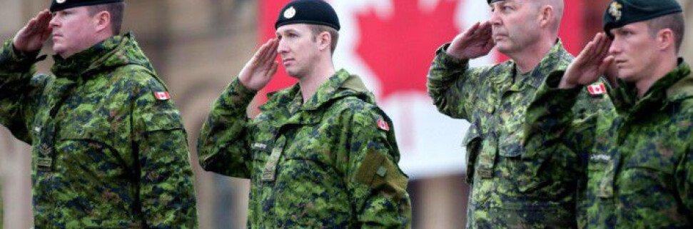 Как попасть на службу в канадскую армию
