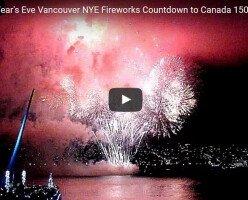 Яркое празднование 2017 года в Ванкувере! (ВИДЕО)