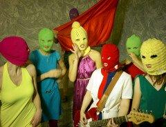 Скандальная российская панк-рок группа Pussy Riot, приезжает в Ванкувер