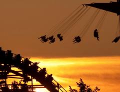 Парк аттракционов в Ванкувере Плейленд (Playland, Amusement Park)