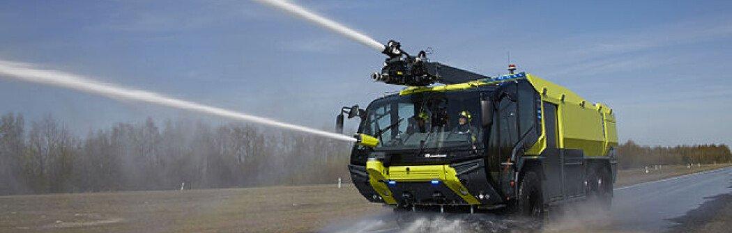 В Канаду прибыла первая в мире электрическая пожарная машина