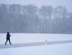 Ожидается сильный снегопад на основных автомагистралях Британской Колумбии