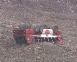 В Национальном парке Джаспер перевернулся автобус: три человека погибли
