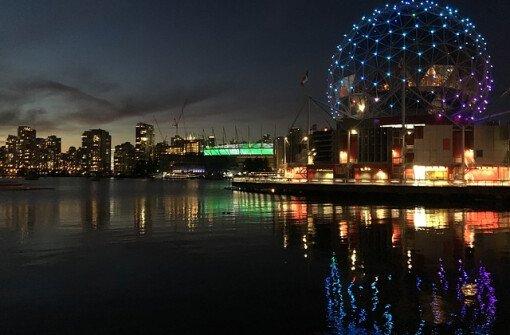 На Ванкувер идет первый осенний шторм