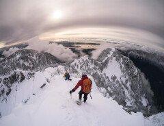 Маршрут к горе Краун (Crown Mountain)