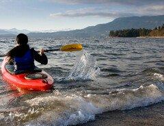 5 лучших мест для каякинга в Ванкувере
