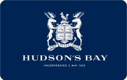 Hudson's Bay (Home Outfitters) E-gift 100$