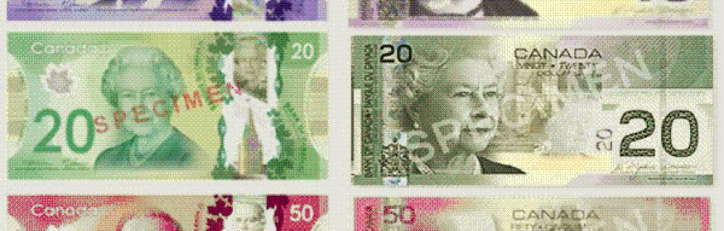 В 2021 году некоторые банкноты Канады потеряют статус законного платежного средства