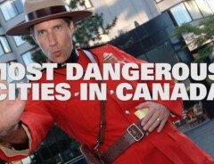 Самые опасные города Канады