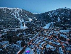В лыжном курорте Вистлер добавят крытый аквапарк, американские горки и освещение для лыжной трассы