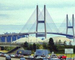 На основном мосту в Ванкувере снизили макс. разрешенную скорость