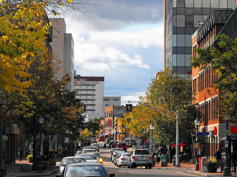 города канады монктон