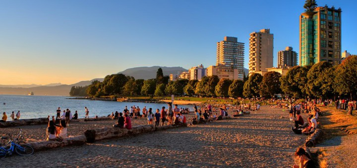 Пляж Инглиш Бэй (English Bay Beach)