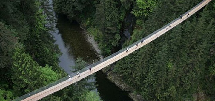 Висячий мост Капилано (Capilano Suspension Bridge)