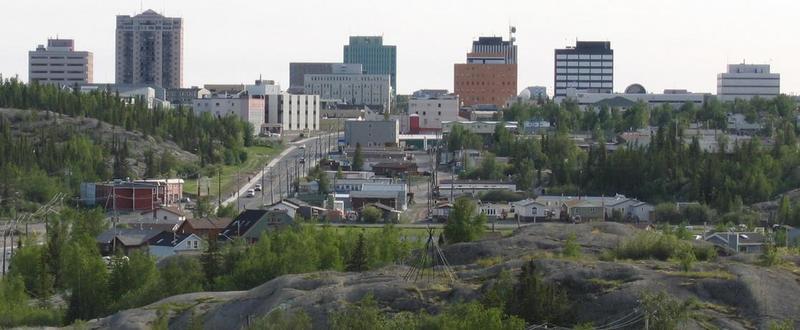 Город Канады Йеллоунайф
