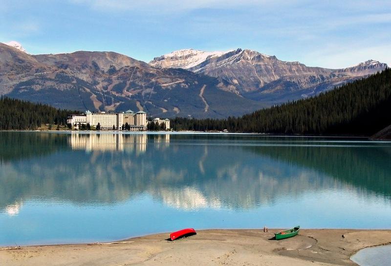 озеро луис канада