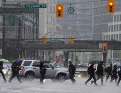 В Ванкувере прошёл самый сильный дождь за 61 год