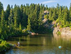 Озеро Мистери (Mystery Lake)