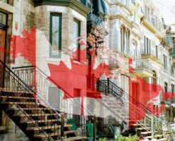Замечательно заметила или настроение Монреаля