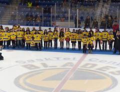 30 человек стали канадцами на домашнем льду Saskatoon Blades