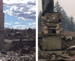 Мужчина потерял два дома за год из-за лесных пожаров