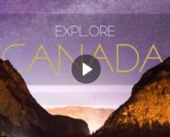 Невероятное видео о красоте Канады в разрешении 4К