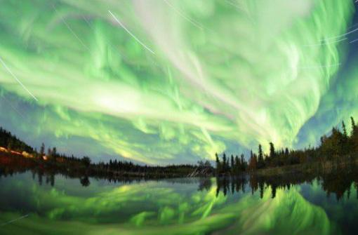 Секретные места в Британской Колумбии, где можно увидеть северное сияние