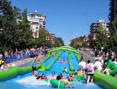 Мероприятие «Slide The City» вновь вернется в Ванкувер