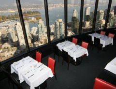 В сентябре закрывается крутящийся ресторан Ванкувера