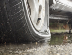 Человека, который порезал 180 колёс в Северном Ванкувере, наконец поймали