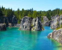 Райское место острова Тексада
