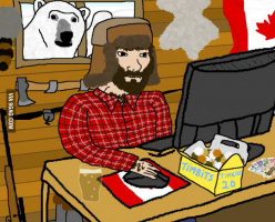Смешные картинки и мемы о Канаде
