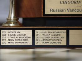 Чемпионат русского Ванкувера по шахматам 2018