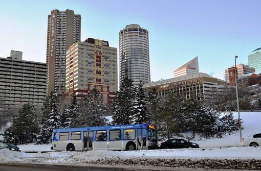 В Эдмонтоне почти полгода наблюдается минусовая температура